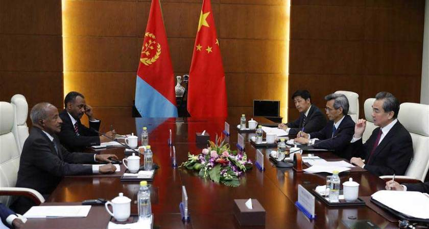Eritrea delegation led by FM Osman Saleh will pay an official visit to China (April 17 - 22)