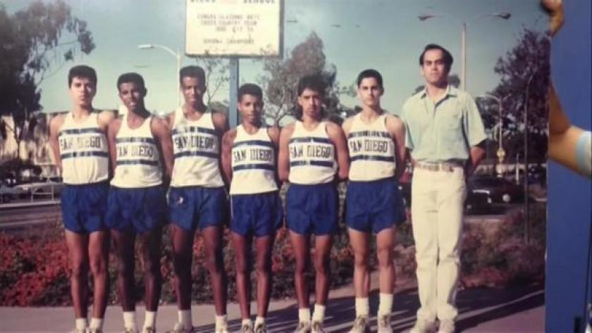 Meb Keflezighi at high school