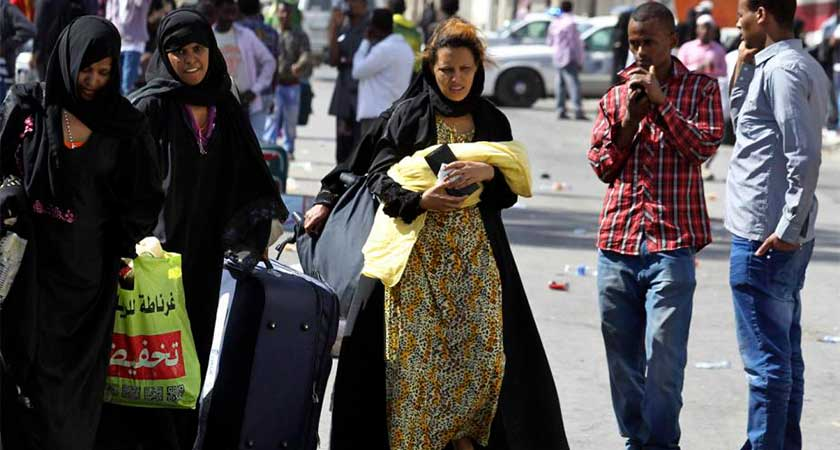 The impending deportation of 200,000 illegal Ethiopians from Saudi Arabia.