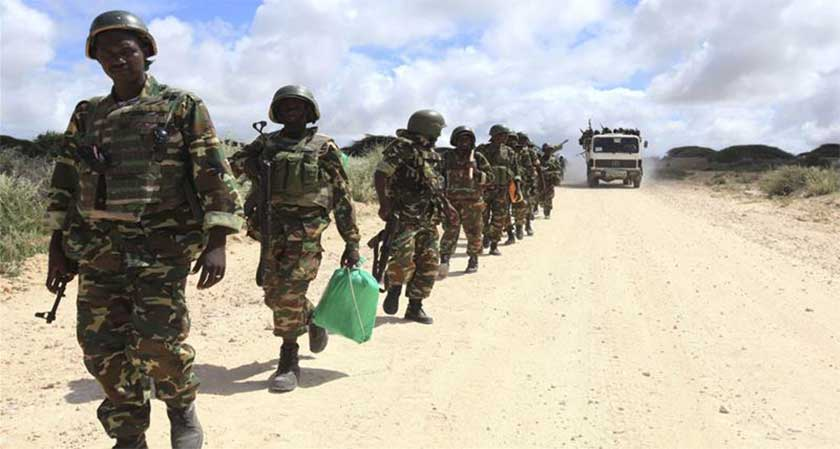 Al Shabaab ambushed a convoy carrying AMISOM troops
