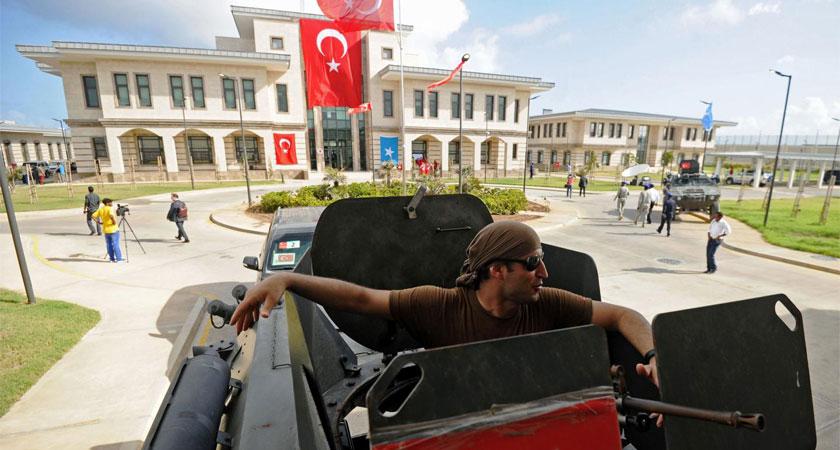 Turkey is establishing a military training camp in Somalia