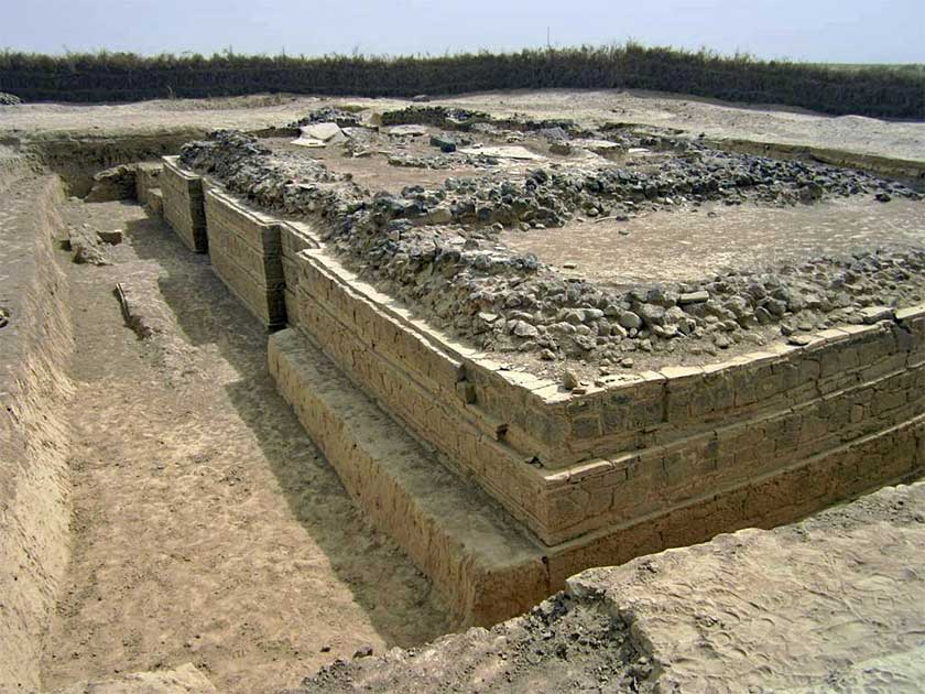 The oldest churches in the Horn of Africa has been discovered in the ancient city of Adulis