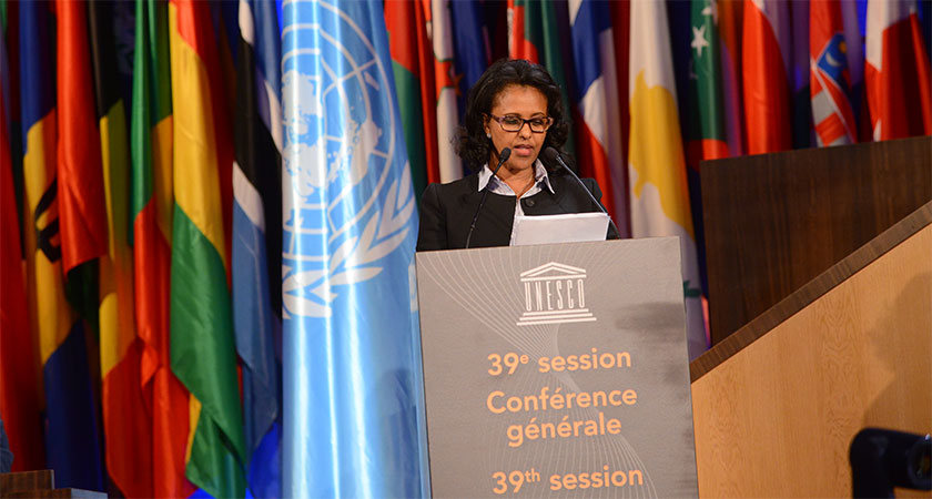 Ambassador Hanna Simon's Speech at the 39th UNESCO General Conference