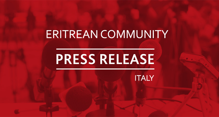 The Eritrean Community Requests Correction to the Italian Press