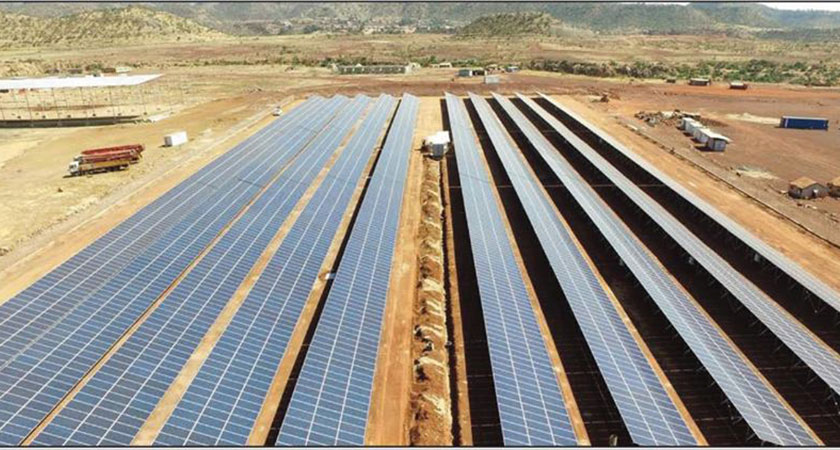 E-tech and Solar Power Grid Installation Projects
