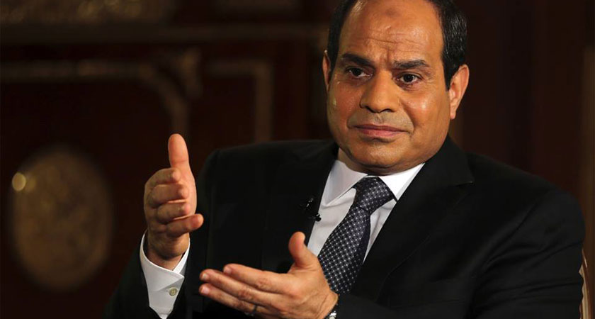 Al-Sisi: Egypt Seeking No War with Sudan or Ethiopia