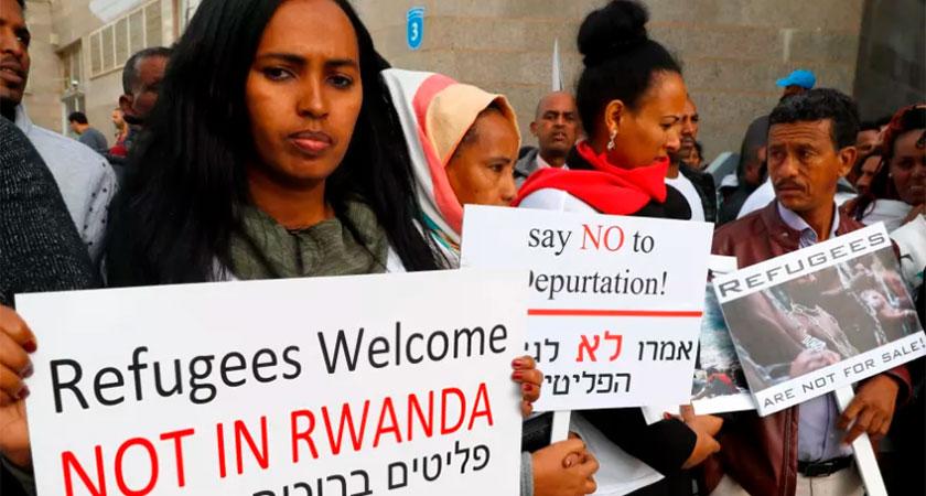 Uganda ready to receive 500 African asylum seekers from Israel