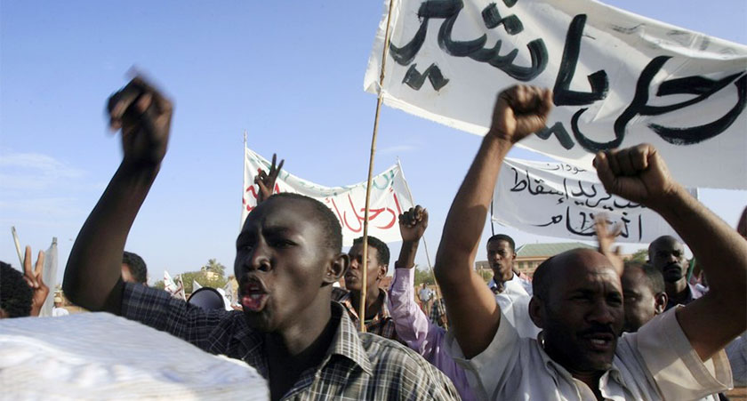 Sudan bread protests spreads
