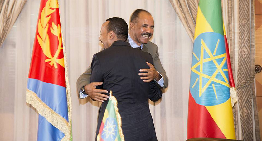 PM of Ethiopia made a historic visit to Eritrea