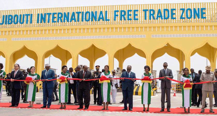 China Unveils $3.5 bln Djibouti Free Trade Zone