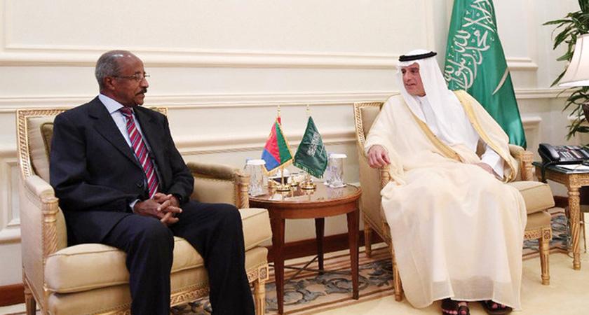 Foreign Ministers of Eritrea and Saudi Arabia Meet