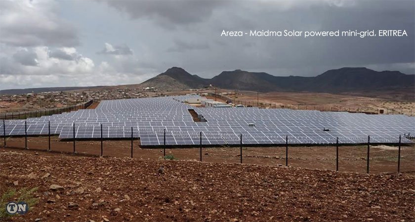 The Areza - Maidma solar powered mini-grid will connect 40,000 people, over 500 commercial business and 80 institutions