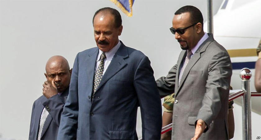 President Isaias is due to return to Ethiopia for an official visit to the Amhara region