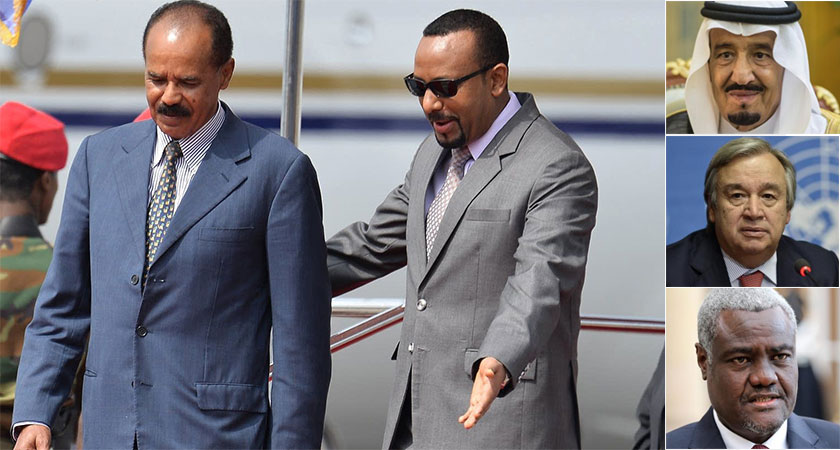 Ethiopia and Eritrea will attend and sign a peace summit in Saudi Arabia