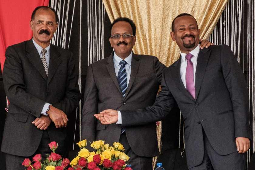A cushitic alliance of Eritrea, Ethiopia and Somalia