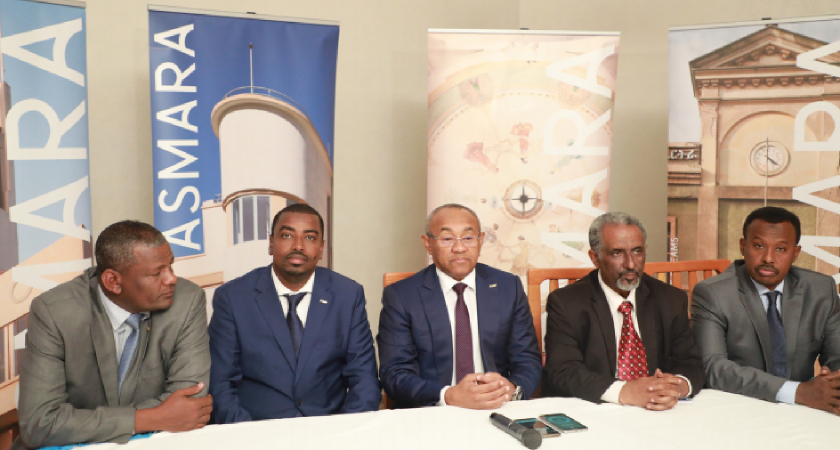 The President of the Confederation of African Football (CAF) recently paid a working visit to Eritrea