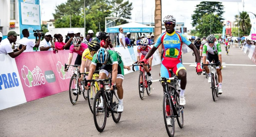 18-year-old Eritrean Rider Biniyam Ghirmay Won Stage 3 La Tropicale 2019
