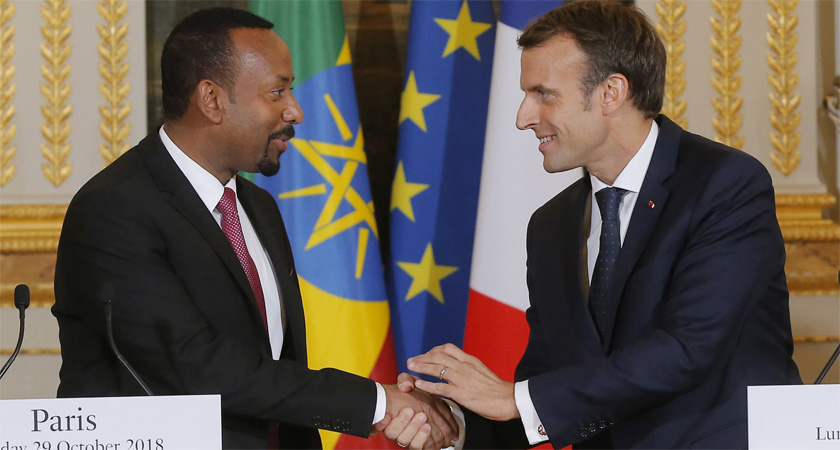 France agreed to help landlocked Ethiopia build a navy