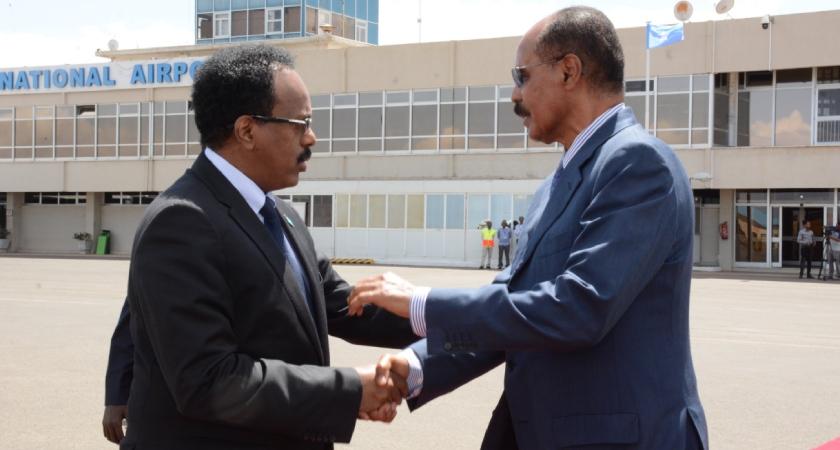 Somalia President Visits Eritrea After Egypt Trip