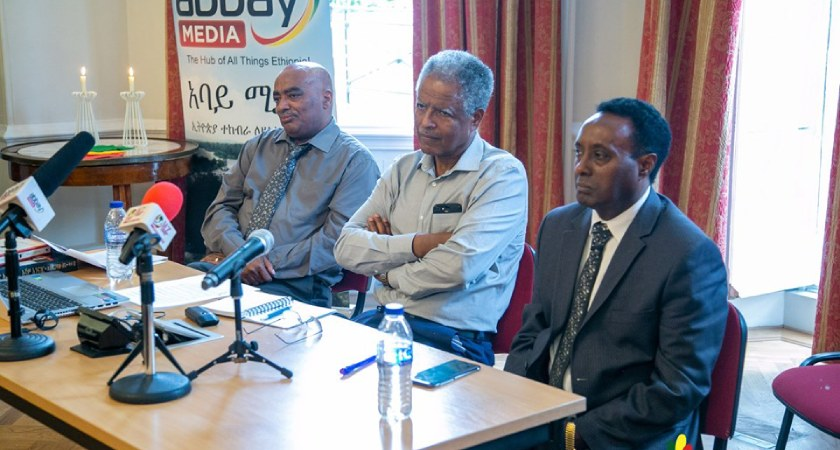 Andargachew Tsege Book Launch Like No Other