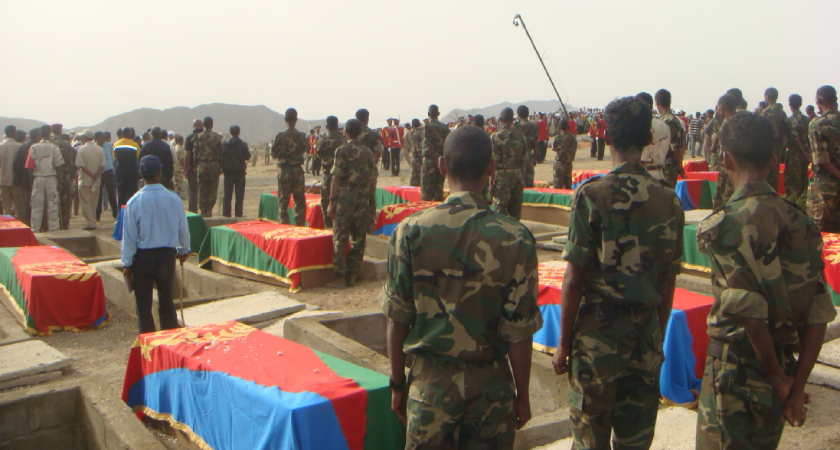 In the month of June, Eritreans commemorate Martyrs Day.