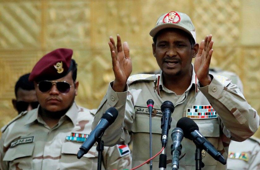 Lieutenant General Mohamed Hamdan Dagalo, known as Hemedti