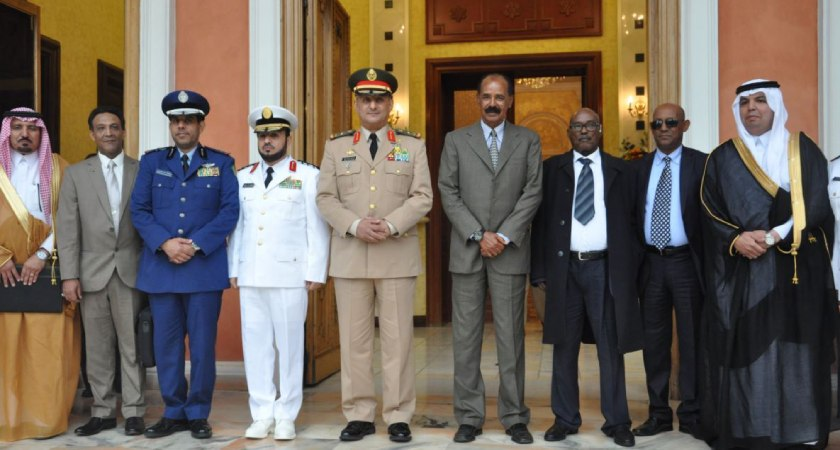 Relation between Eritrea and Saudi Arabia on Red Sea security, combating terrorism and trafficking