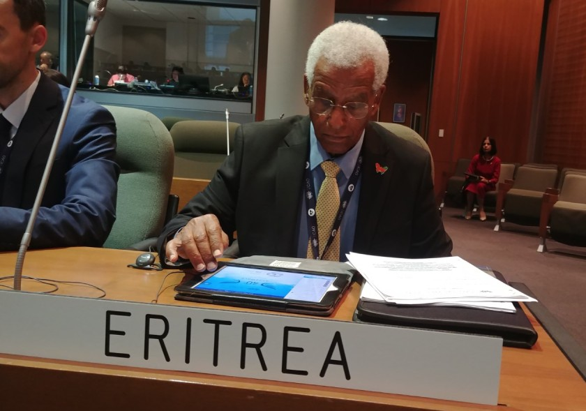Eritrea participated at the Global Aviation Security Symposium and the 40th Session of the International Civil Aviation Organization