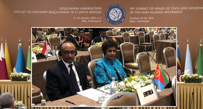 Eritrea Partakes in Preparatory Ministerial Meeting of 18th Summit of NAM