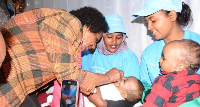 Eritrea mobilized nationwide meningitis vaccination campaign
