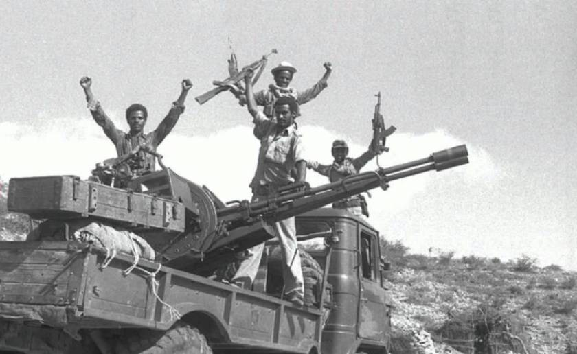 the battle of Nakfa, Eritrea