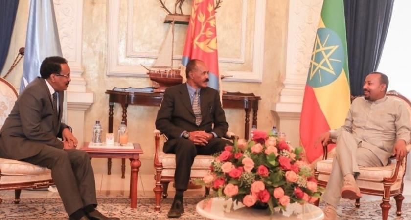 Ethiopia, Somalia Leaders in Eritrea for Tripartite Summit