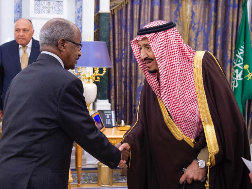 King Salman receives Foreign Minister Osman Saleh of Eritrea