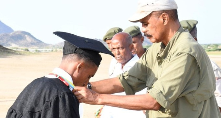 Joint Sawa Graduation of 33rd National Service, 11th HAMAMOS Members