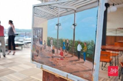 MPI-CC LIVE Oil Painting 16X20