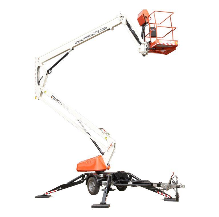 Portable Trailer Boom Lift Canadian Mining Supplier Sudbury ON