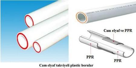 Cam Elyaf Takviyeli Plastik Borular