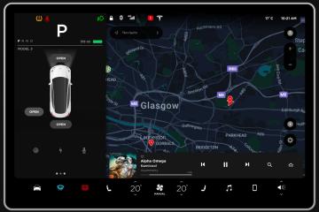 Tesla 3 UI