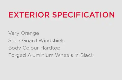Exterior Specification