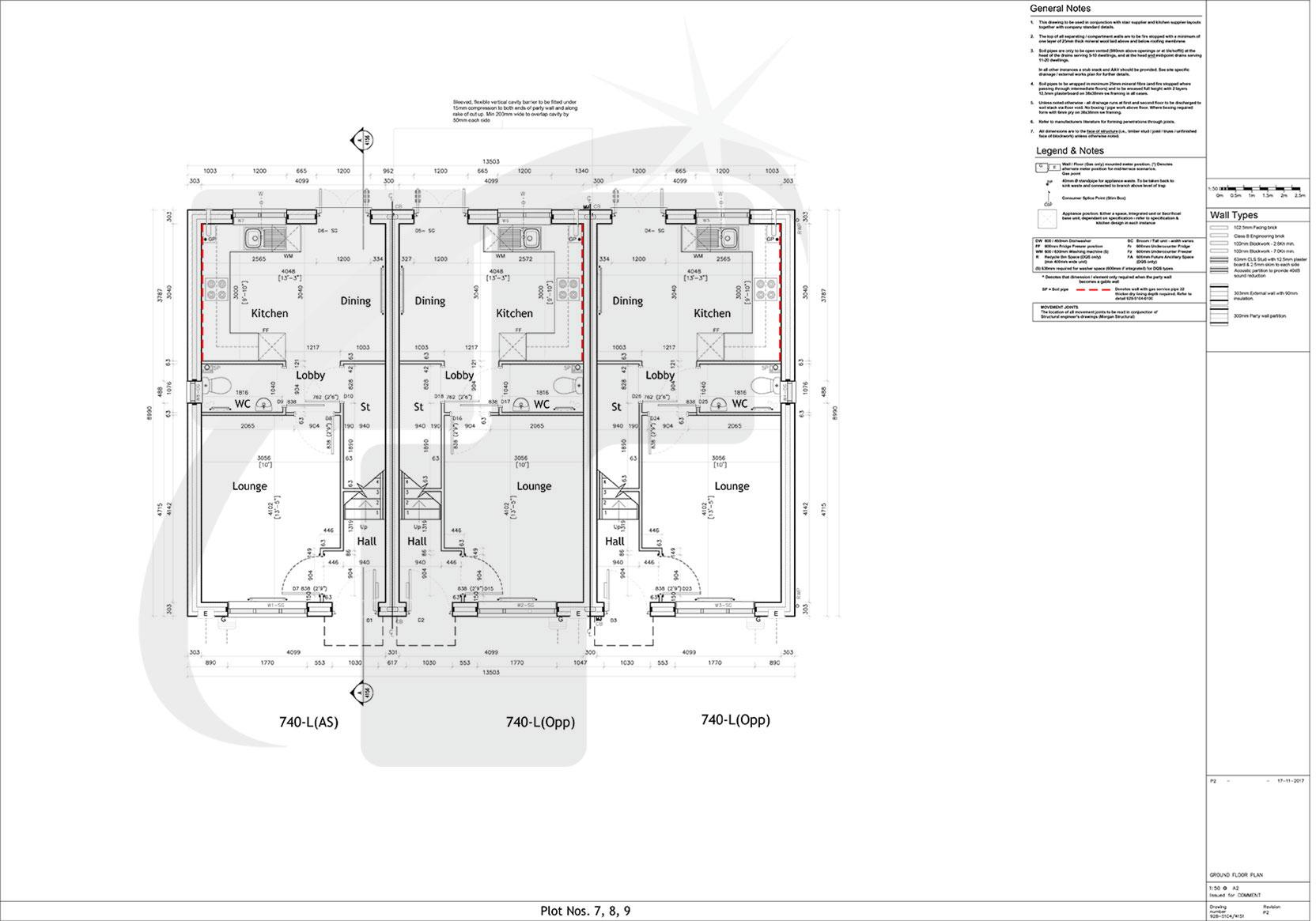 hight resolution of ground floor plan
