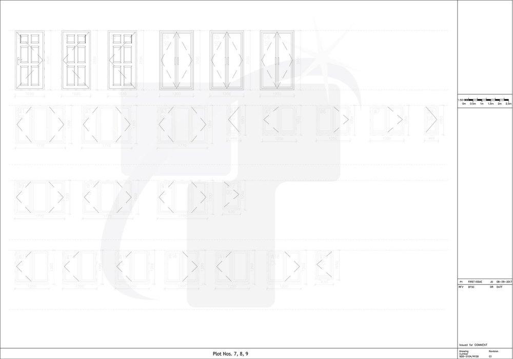 medium resolution of external door window schedule