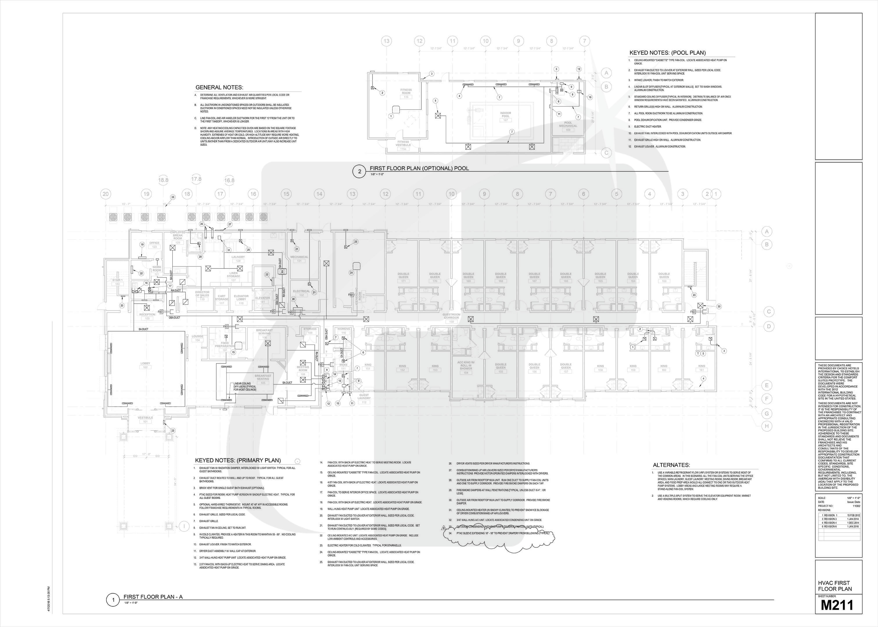 Construction Drawing Samples: Working Drawings