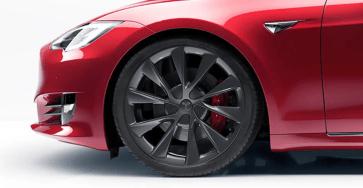 Model S front wheel