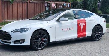 Model S Service car
