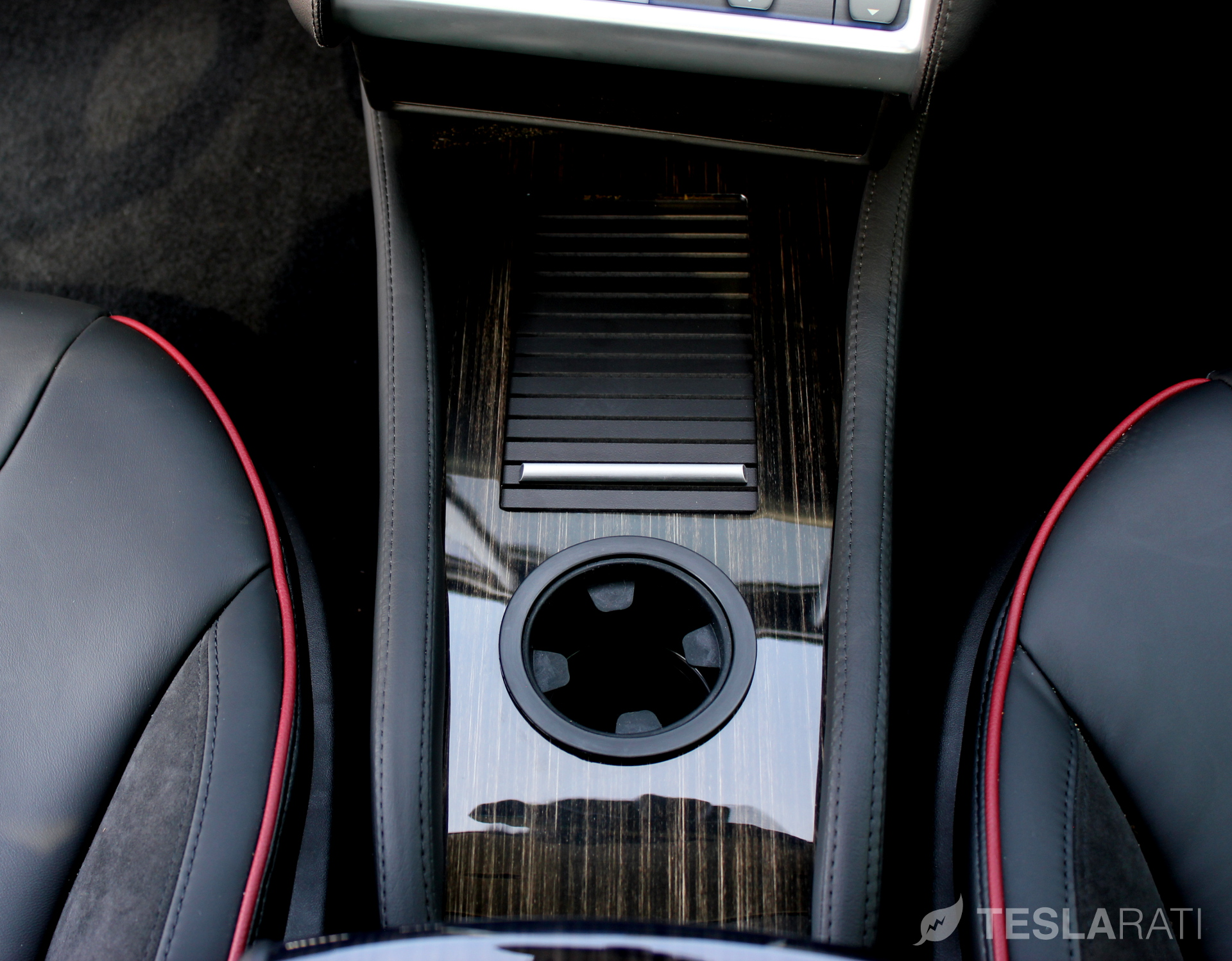 hight resolution of teslaccessories model s center console insert cci secure compartment