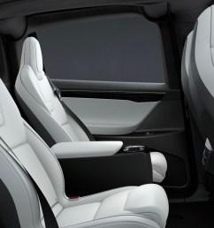 tesla model x rear center console 6 seat [ 2682 x 1450 Pixel ]