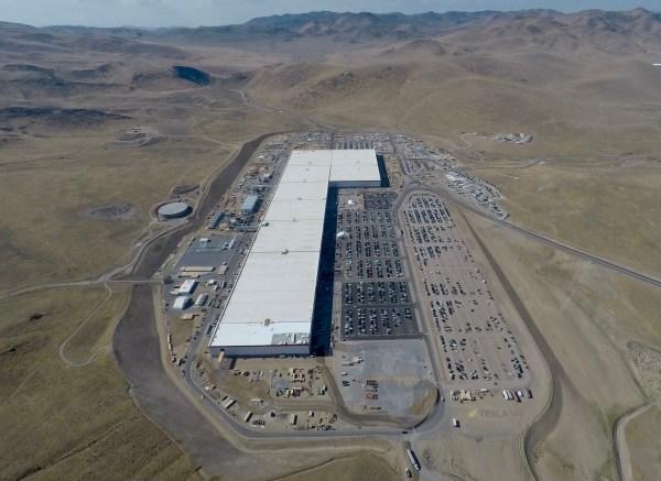 Tesla' Gigafactory Continues Reshape Reno