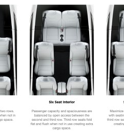 model x offers three types of seating configuration [ 2762 x 1482 Pixel ]