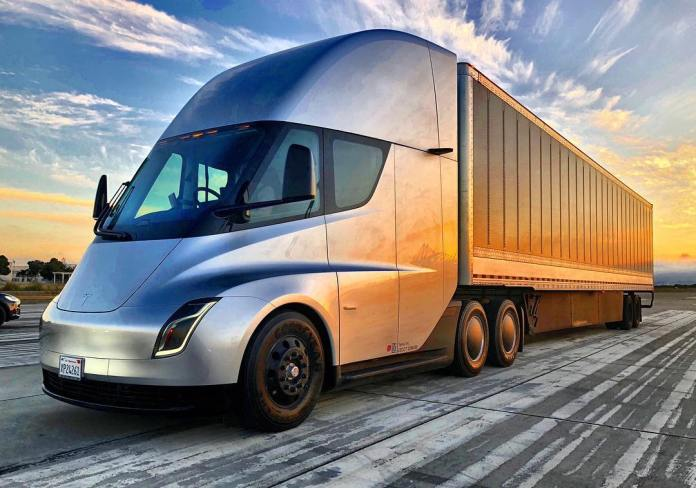 Tesla is deploying the first Mega charger for all the Semi electric trucks.