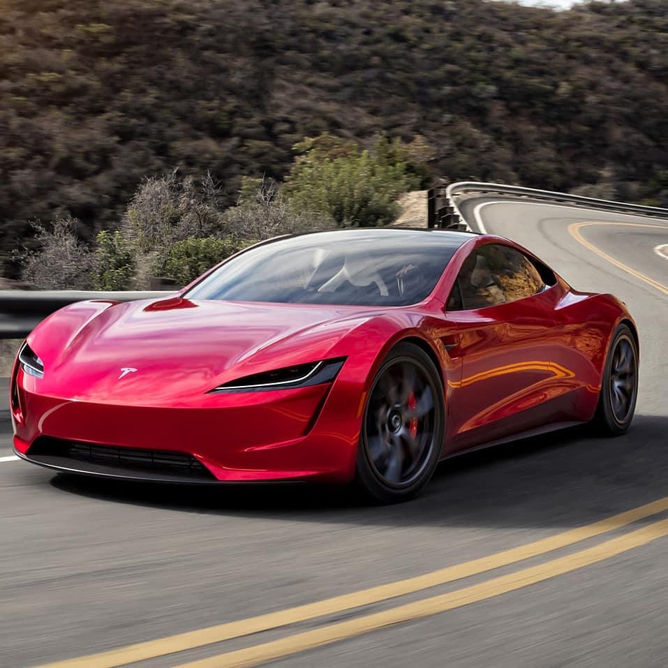 Elon Musk Car In Spac Wallpaper Tesla Roadster 2020 11 Teslarati